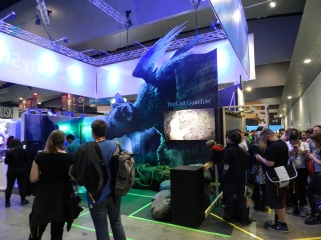 The Last Guardian stand at the PlayStation booth.