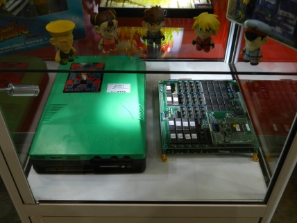 Street Fighter series arcade boards.