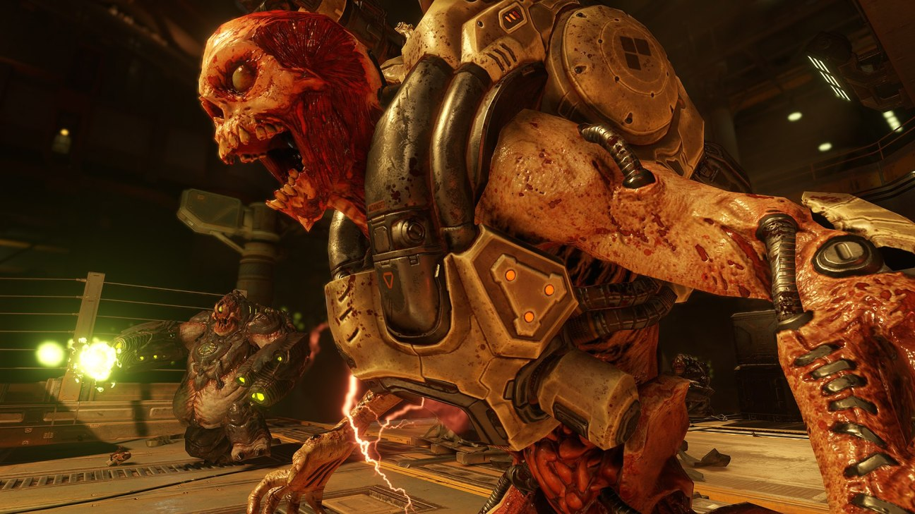 Doom is loud, bloody and hugely entertaining.