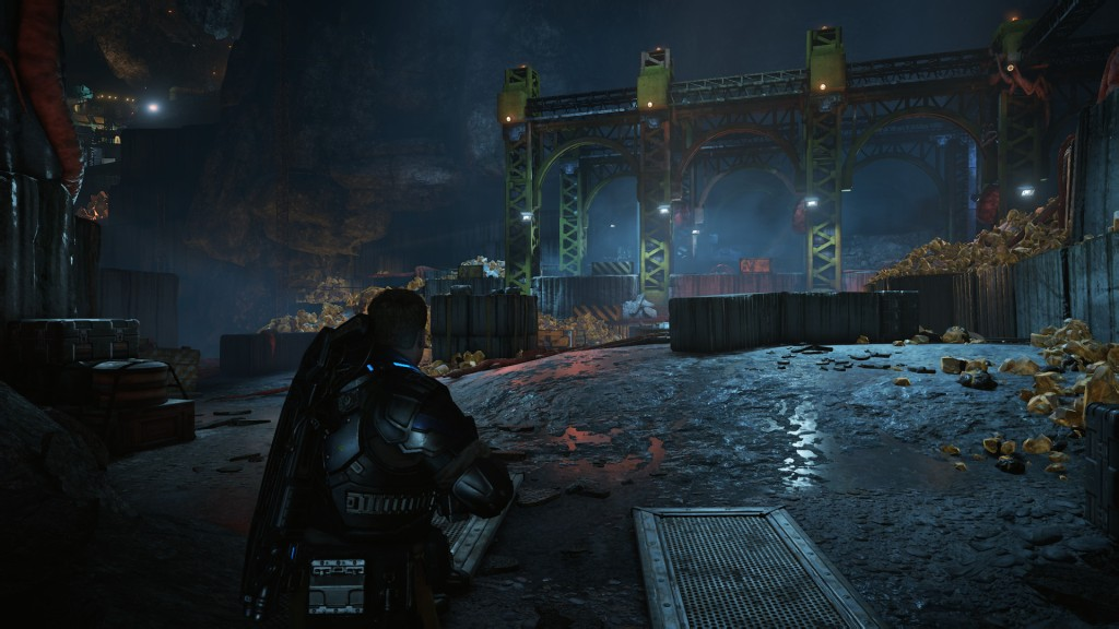Gears of War 4 still does underground environments very well.