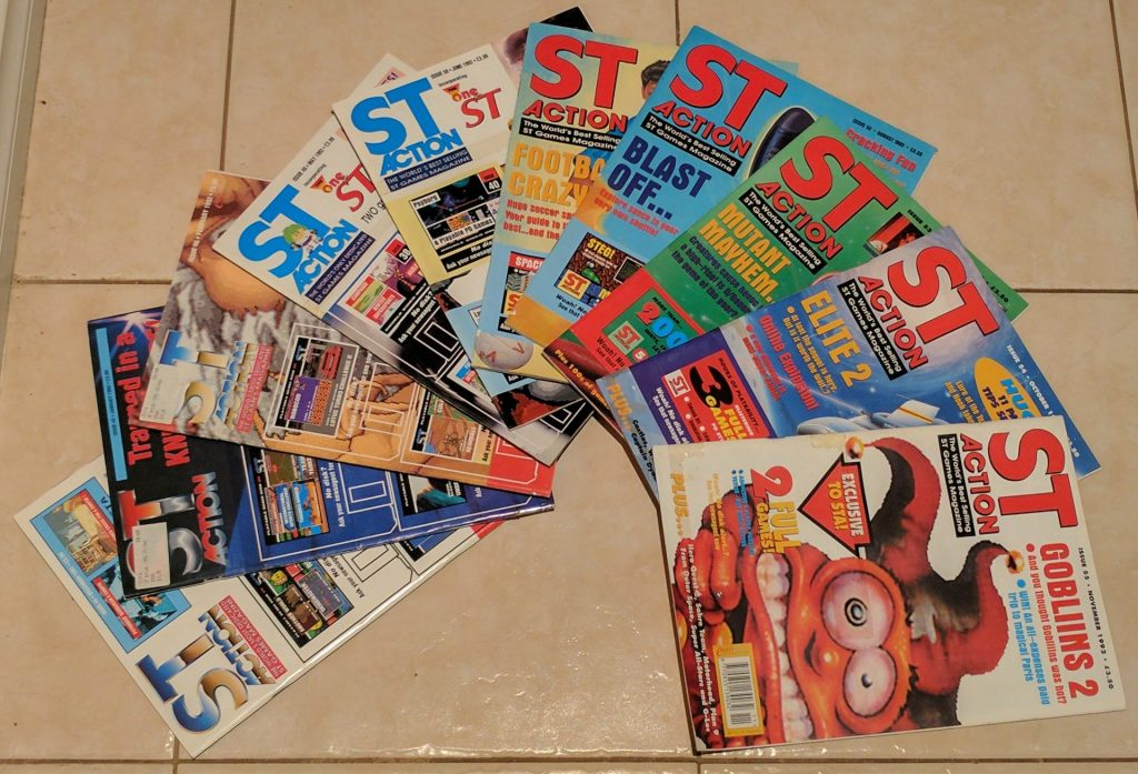 Just a few issues from my box of nostalgia.