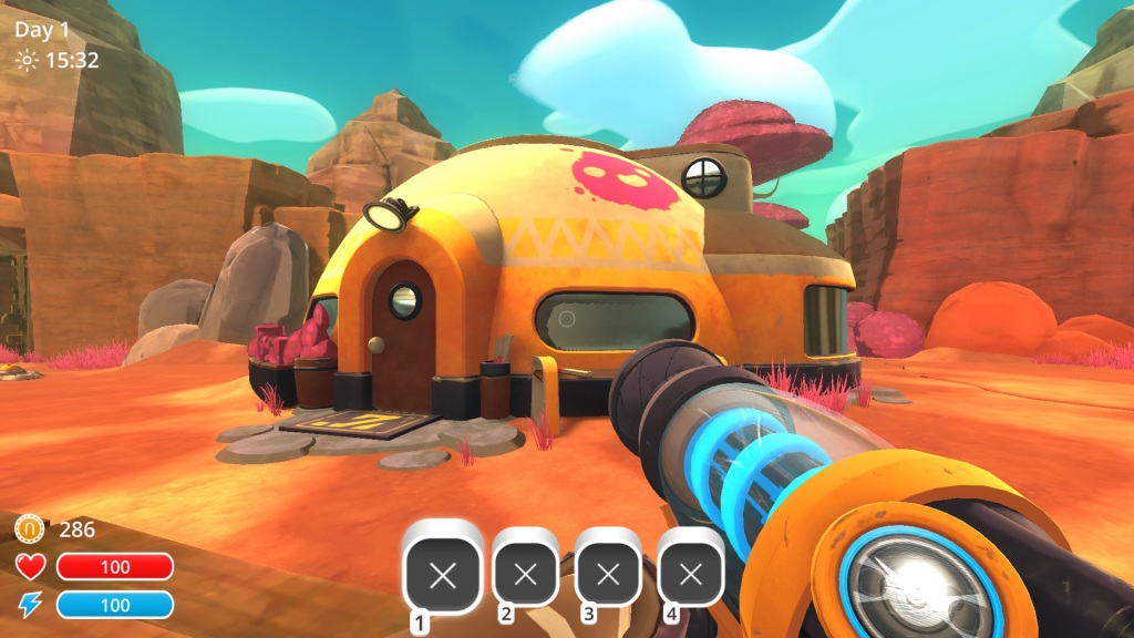 Slime Rancher (Review) – The Happy Shooter/Farmer – The Late