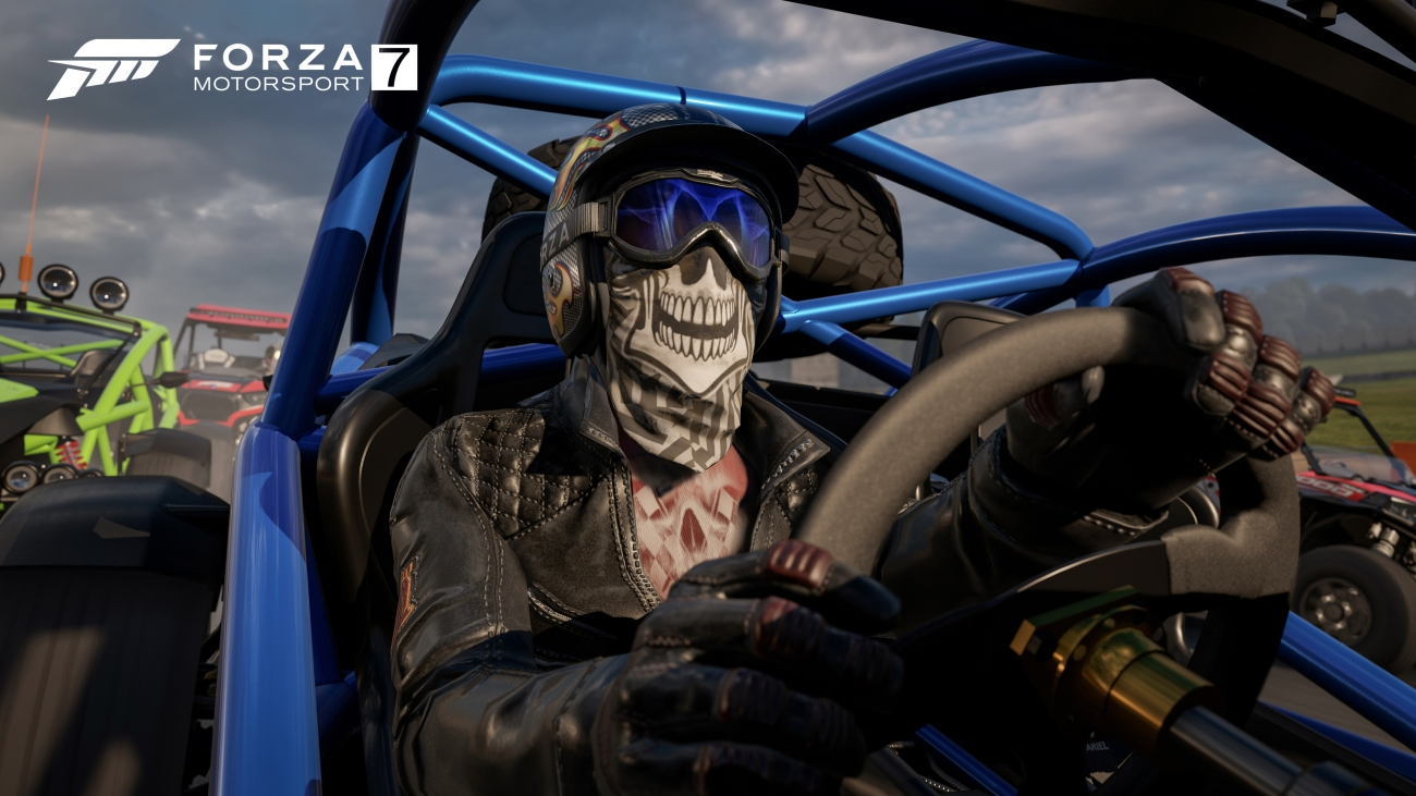 Forza Motorsport 7 Reviews Skull Mask