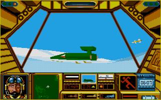 Snowmobile combat.