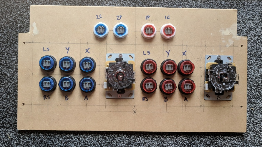 Modifying my Arcade1Up Part Two – Building new Controls
