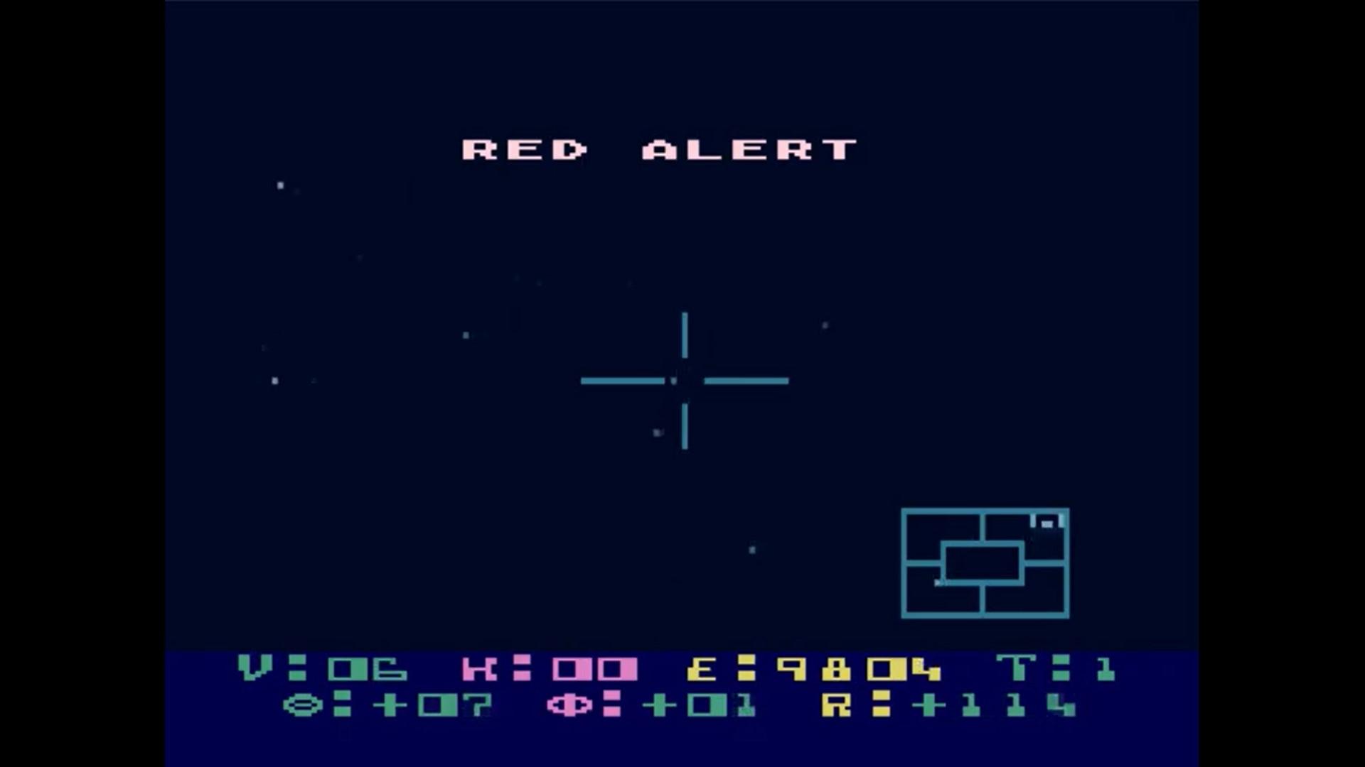 Space Combat with: Star Raiders (1979, Atari 400/800)