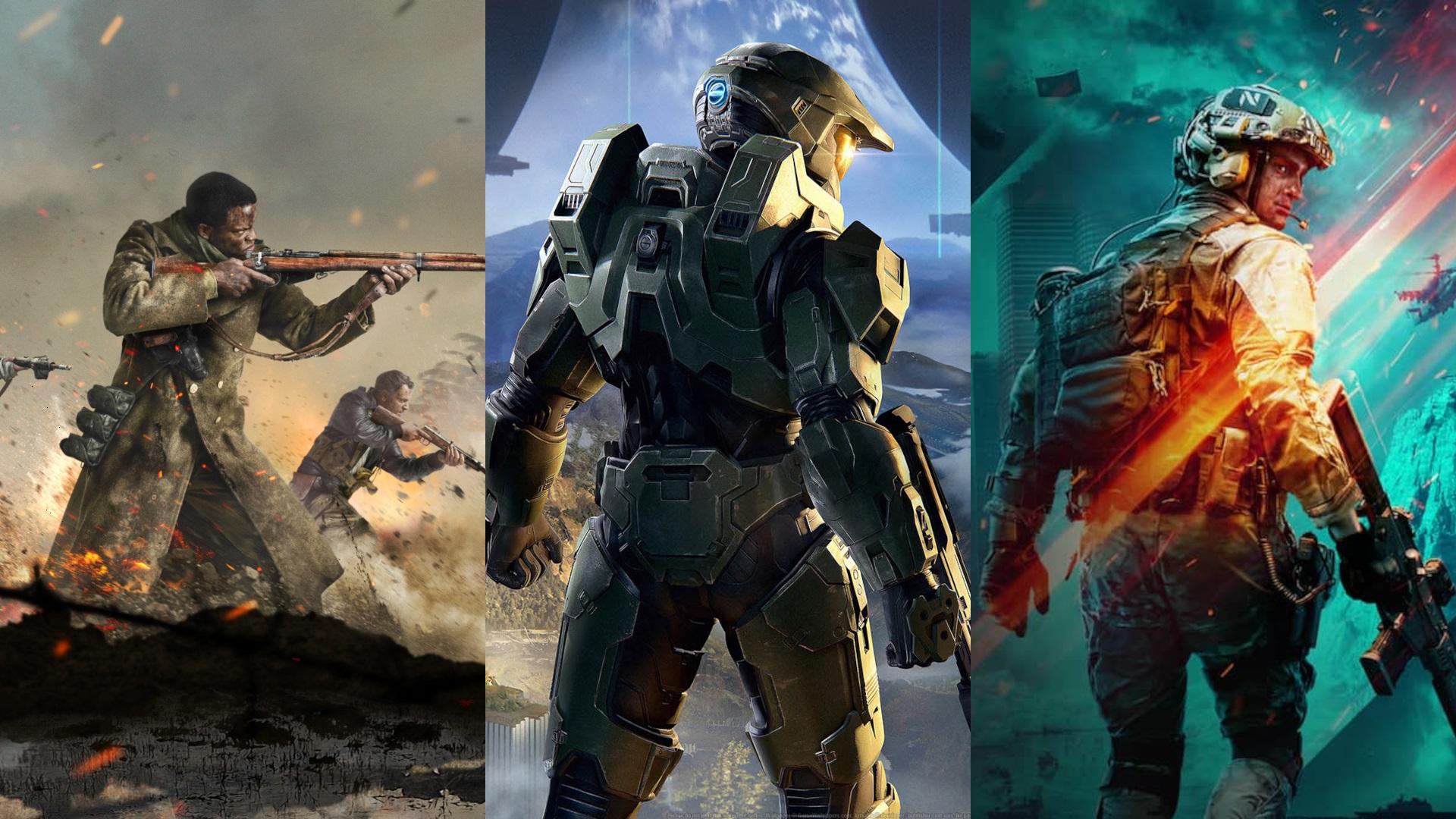 Beta Battles: Call of Duty Vanguard v Halo Infinite v Battlefield 2042